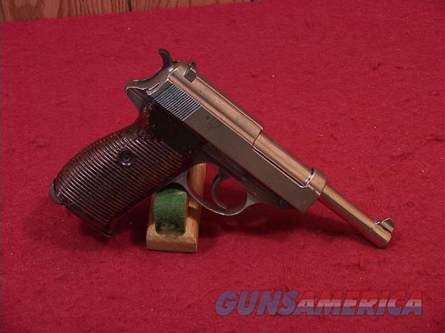 182U WALTHER P38 9MM  Guns > Pistols > Walther Pistols > Post WWII > P38