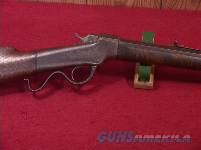 912 BALLARD #2 SPORTING RIFLE 32 RF/CF  Guns > Rifles > Ballard Rifle > Antique