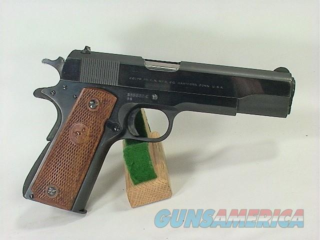 169X COLT 1911A1 45, RARE BB TRANSITIONAL PRE 70 SERIES  Guns > Pistols > Colt Automatic Pistols (1911 & Var)