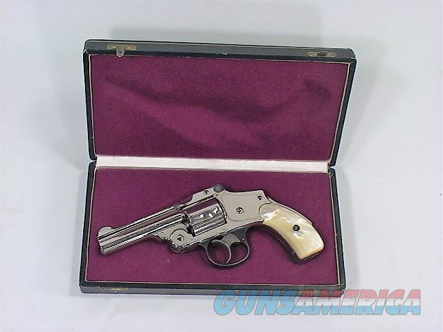 138X S&W SAFETY HAMMERLESS LEMON SQUEEZE 5TH MODEL 38  Guns > Pistols > Smith & Wesson Revolvers > Pre-1945