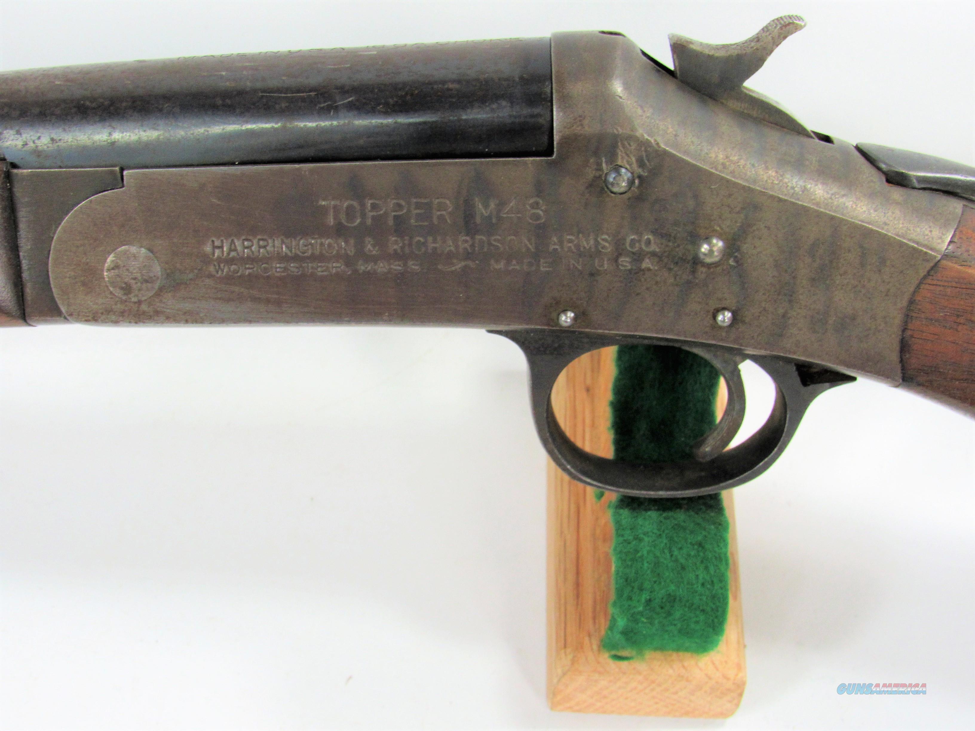 """145Y H&R TOPPER M48 16GA 30""""  Guns > Shotguns > Harrington & Richardson Shotguns"""