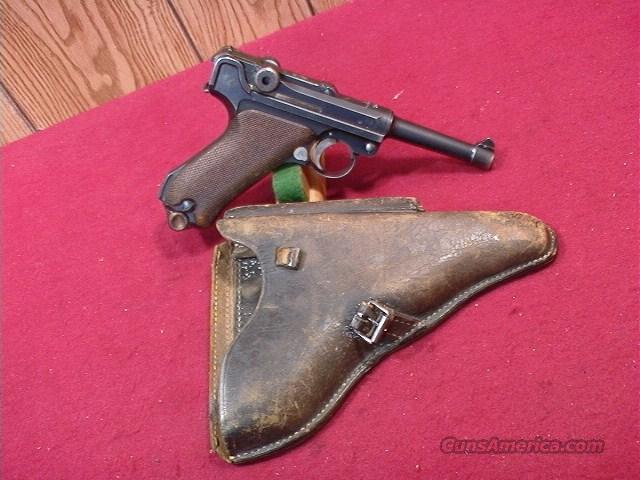 C610R LUGER DWM 9MM, 1920 CHAMBER DATE  Guns > Pistols > Luger Pistols