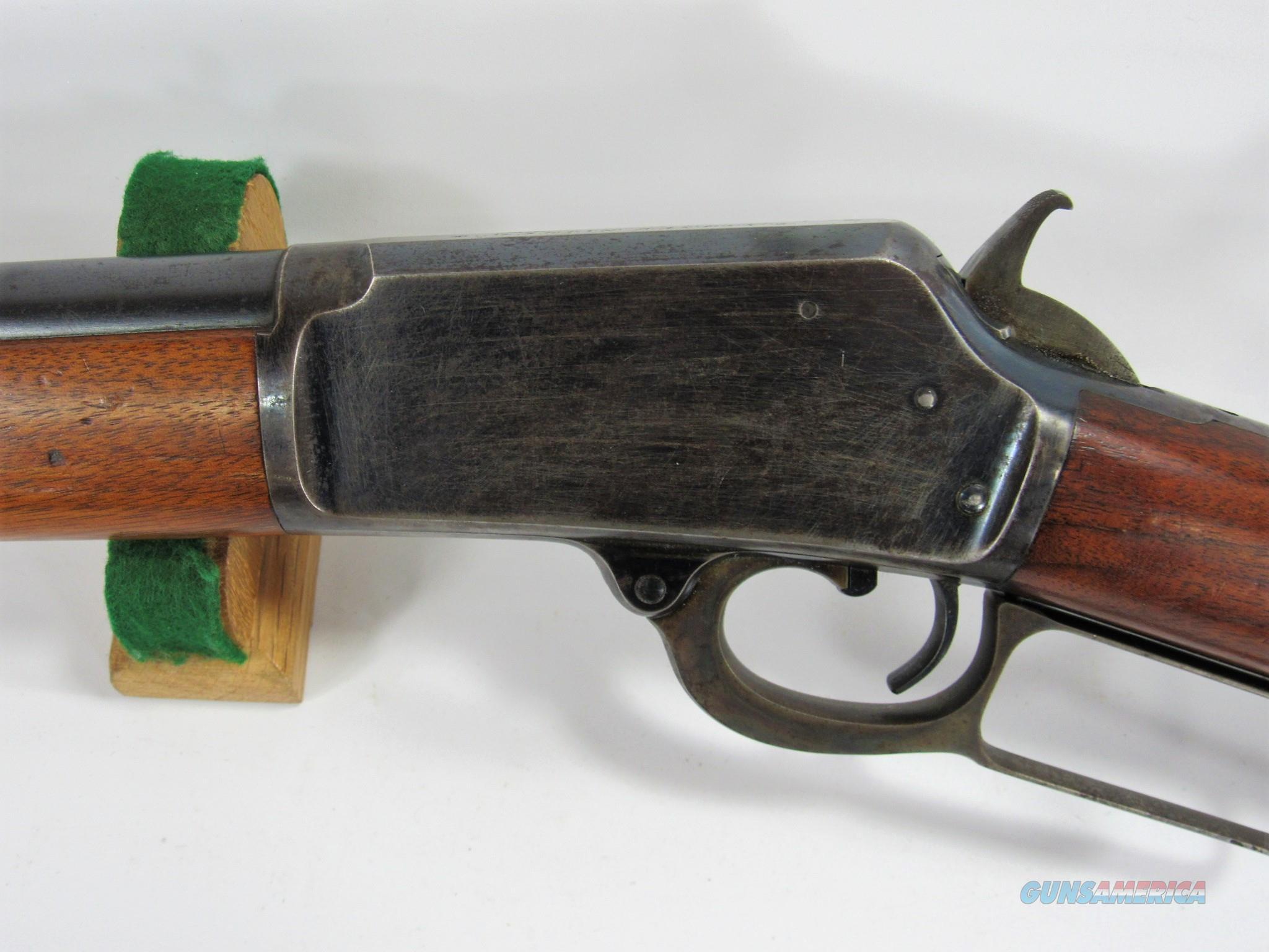 1019 MARLIN 1889 38-40  Guns > Rifles > Marlin Rifles > Pre-1899