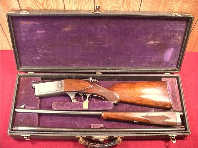 296P SAVAGE 99G DELUXE 300 SAVAGE CASED SET WITH 410 BARREL  Guns > Rifles > Savage Rifles > Model 95/99 Family