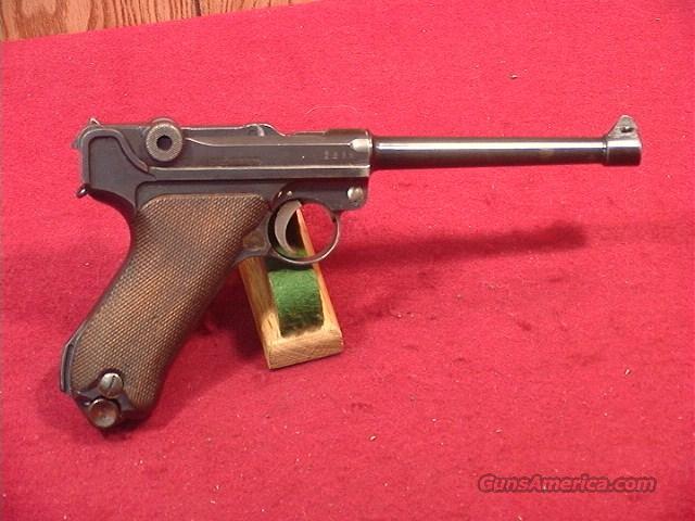 C600R GERMAN LONG BARREL COMMERCIAL LUGER 9MM  Guns > Pistols > Luger Pistols