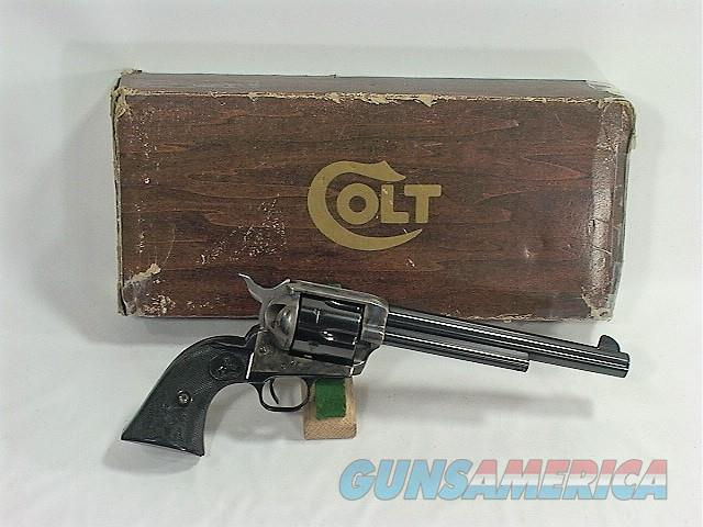 "E4X COLT SAA 45LC 7 ½"", EARLY 3RD MODEL   Guns > Pistols > Colt Single Action Revolvers - 3rd Gen."