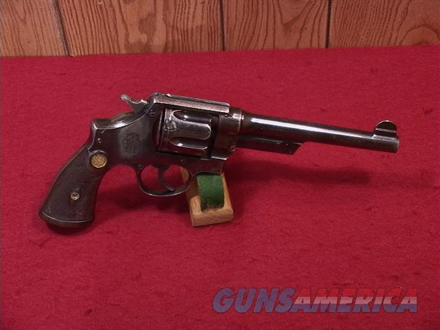 CR14R SMITH & WESSON 1ST MODEL HAND EJECTOR TRIPPLE LOCK   Guns > Pistols > Smith & Wesson Revolvers > Full Frame Revolver
