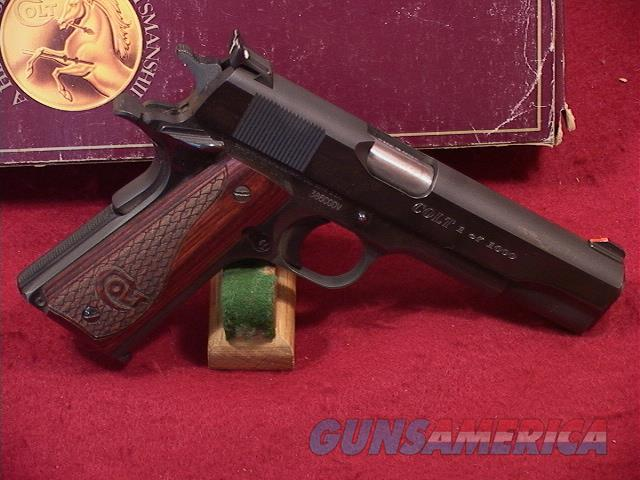 239U COLT 1911 CUSTOM GOVERNMENT 45 ACP  Guns > Pistols > Colt Automatic Pistols (1911 & Var)