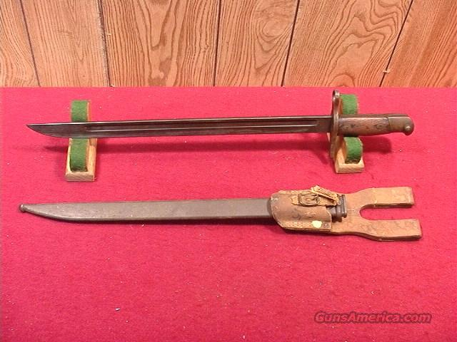 J22 JAPANESE WWII TYPE 30 BAYONET  Non-Guns > Knives/Swords > Military > Bayonets