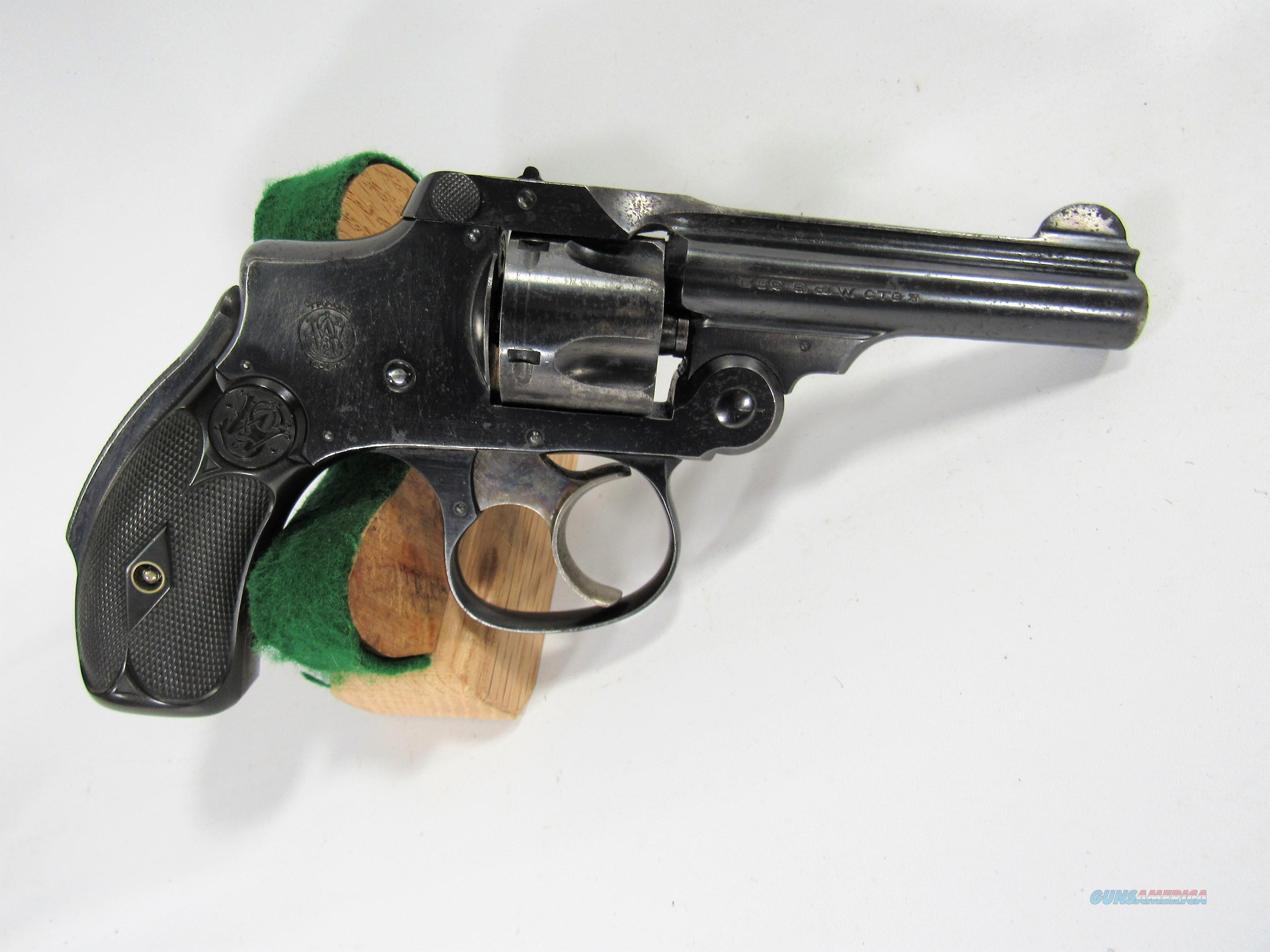 108Y S&W SAFETY HAMMERLESS 3RD MODEL 32S&W  Guns > Pistols > Smith & Wesson Revolvers > Pre-1945