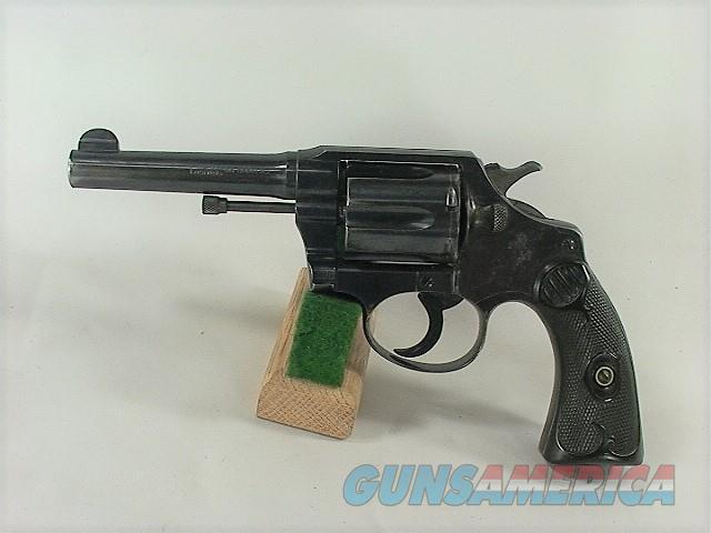 "125W COLT POLICE POSITIVE 38 SPECIAL 4""  Guns > Pistols > Colt Double Action Revolvers- Pre-1945"