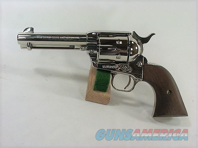 "D38X COLT SAA 44 SPECIAL 4 3/4"" NICKEL  Guns > Pistols > Colt Single Action Revolvers - 3rd Gen."