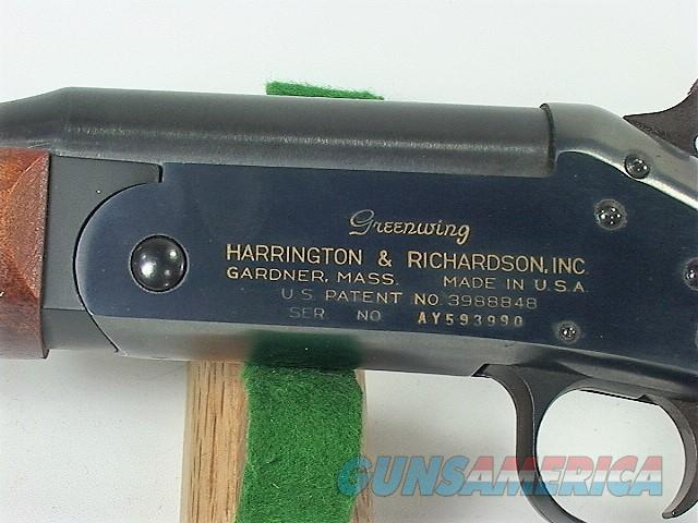 "98X H&R TOPPER JR. 490 GREENWING, 410 3""  Guns > Shotguns > Harrington & Richardson Shotguns"