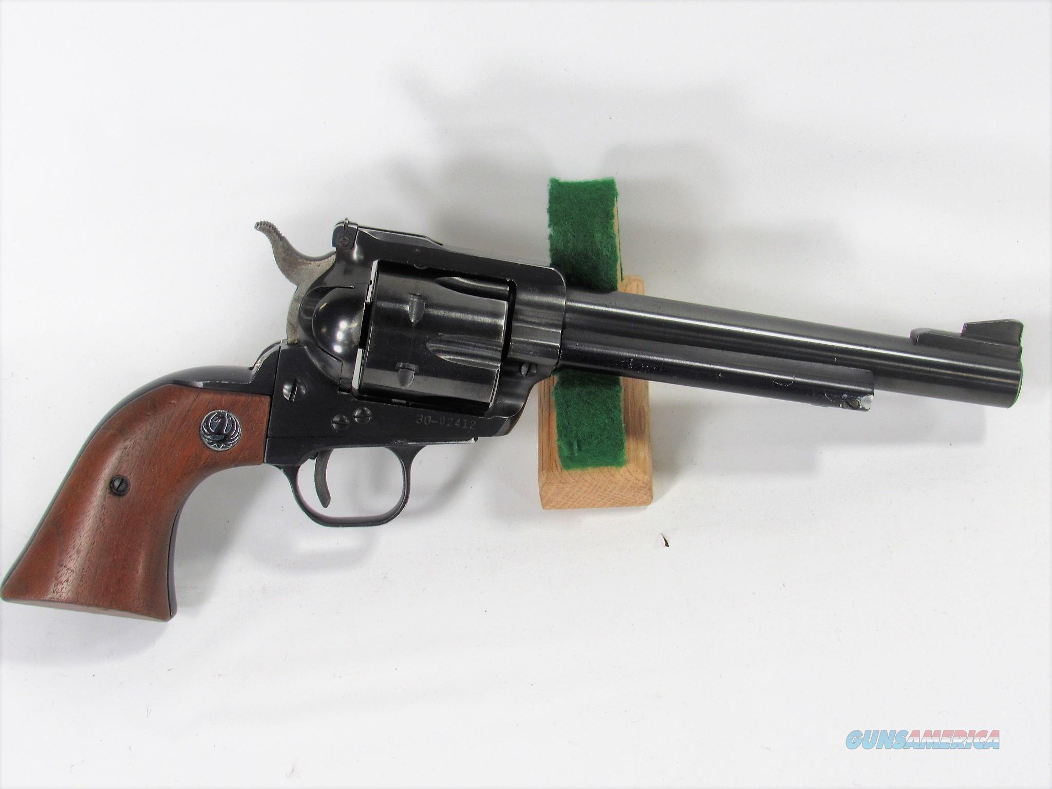 """104Y RUGER BLACKHAWK OLD MODEL 357 6 ½""""   Guns > Pistols > Ruger Single Action Revolvers > Blackhawk Type"""