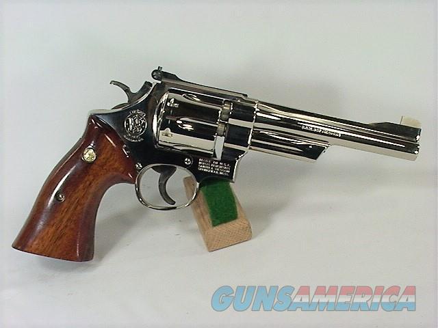 "D14W S&W 27-2 357 6"" NICKEL  Guns > Pistols > Smith & Wesson Revolvers > Full Frame Revolver"
