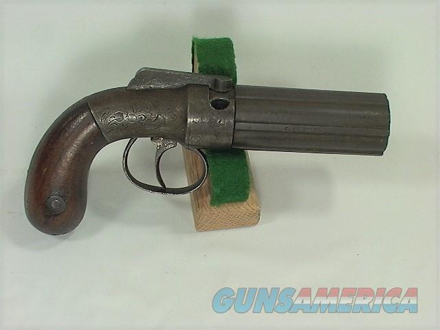 1002 ALLEN & THURBER PEPPERBOX 31 CAL 6 SHOT  Guns > Pistols > Muzzleloading Pre-1899 Pistols (perc)