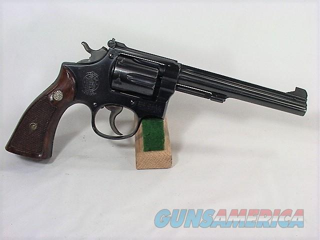 94X S&W K-22 MASTERPIECE POST WAR 22 LR  Guns > Pistols > Smith & Wesson Revolvers > Med. Frame ( K/L )