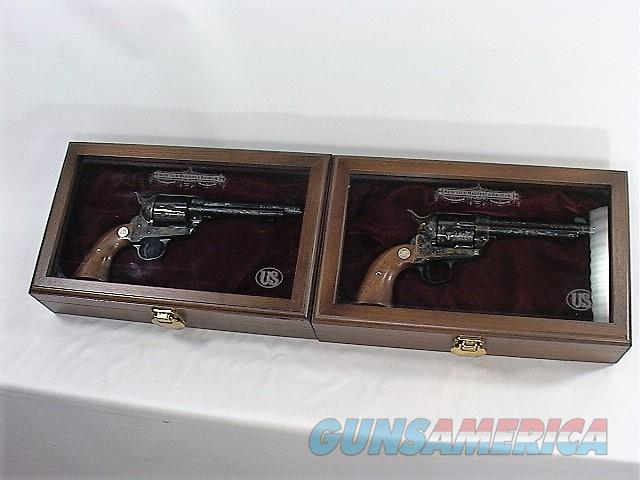 "D36X US FIRE ARMS (USFA) 15TH ANNIVERSERY EDITION CONSECUTIVE PAIR 45 LC 5 ½""  Guns > Pistols > United States Patent Firearms Revolvers/Pistols"