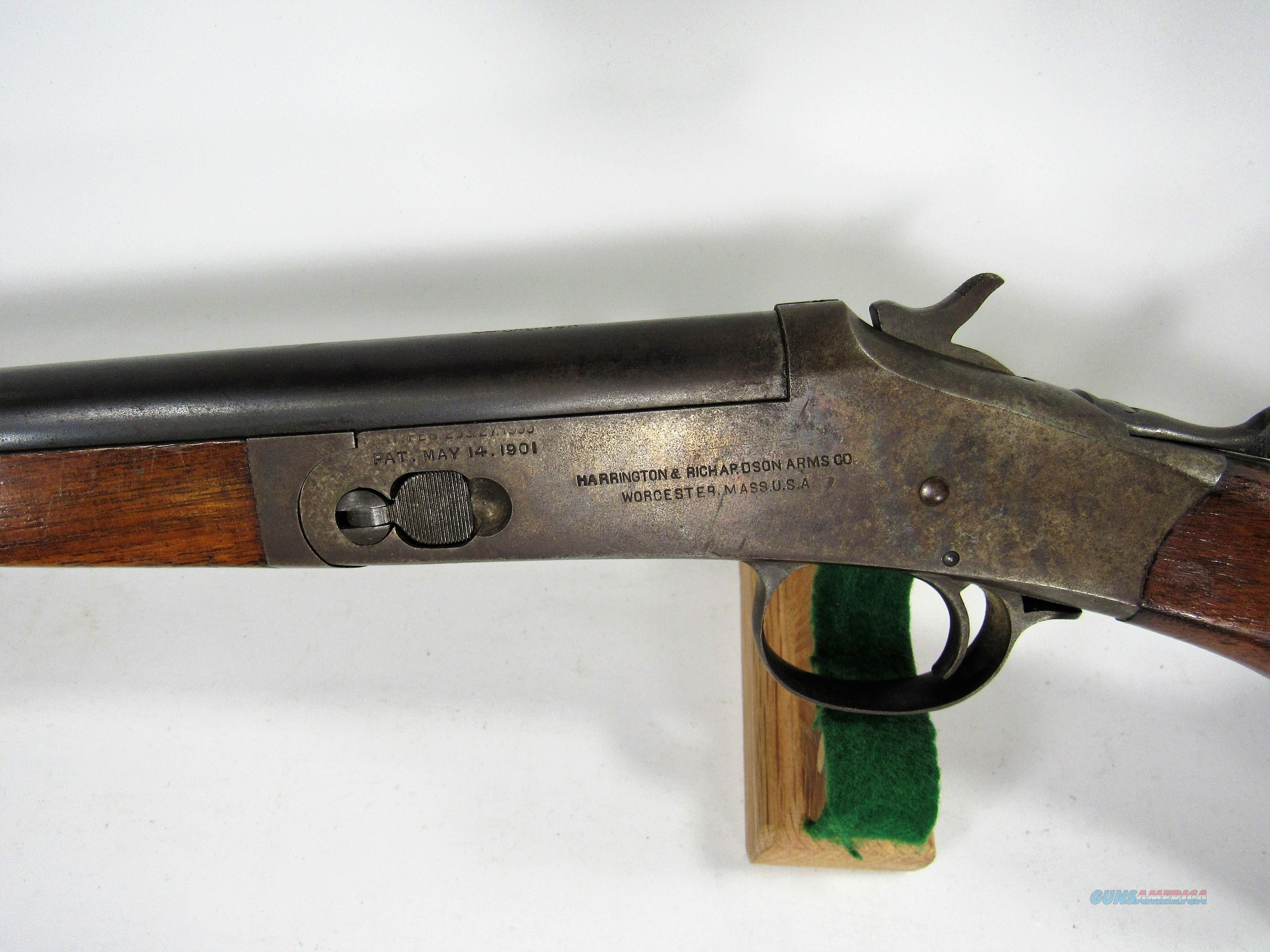 8R REDUCED!! H&R SINGLE SHOT 44XL  Guns > Shotguns > Harrington & Richardson Shotguns