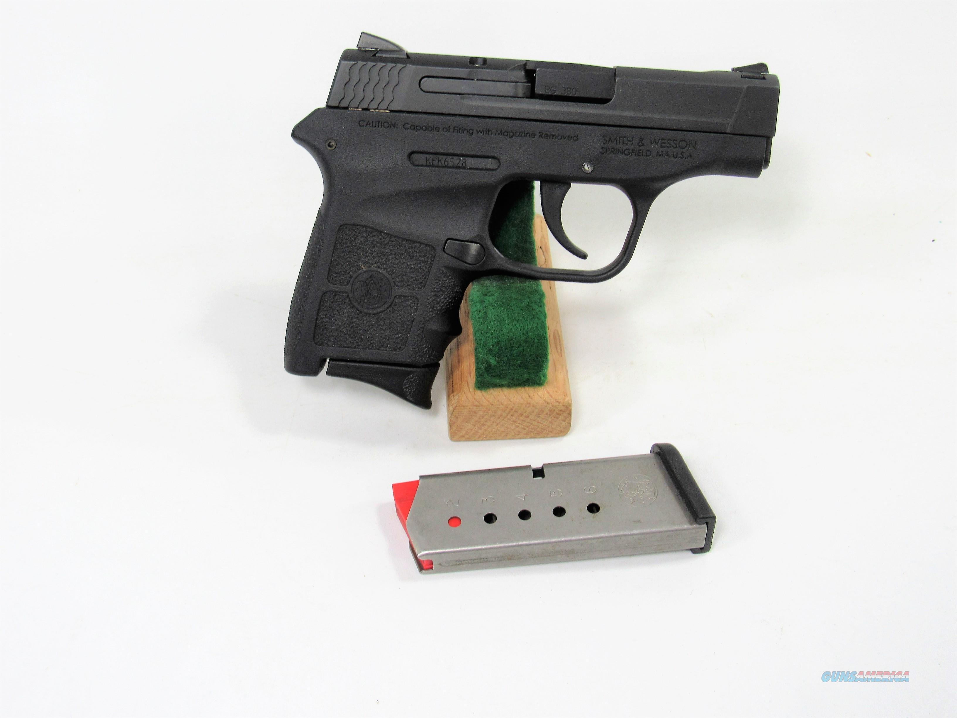 22Z S&W M&P BODYGUARD 380  Guns > Pistols > Smith & Wesson Pistols - Autos > Polymer Frame
