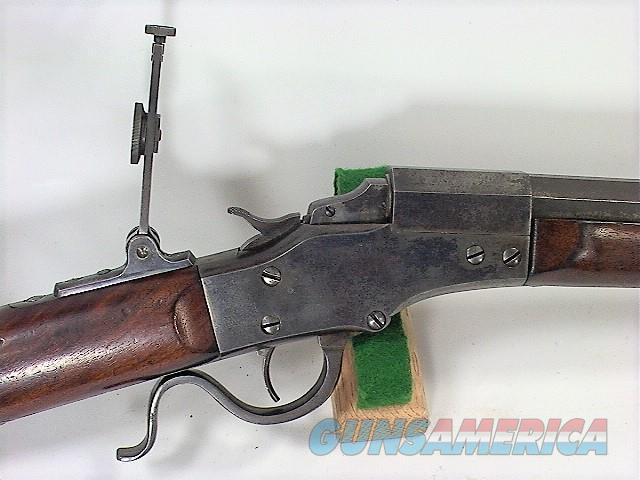 1007 STEVENS IDEAL REMOVEABLE SIDE PLATE MODEL IN 32-35 STEVENS  Guns > Rifles > Stevens Rifles