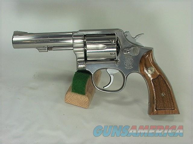 "D17X S&W 65-3 357 4"" STAINLESS  Guns > Pistols > Smith & Wesson Revolvers > Med. Frame ( K/L )"