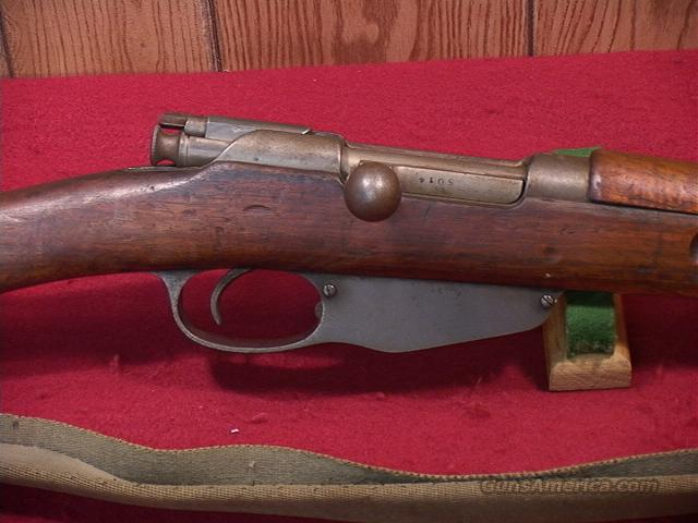 209T DUTCH MANLICHER 1895 CARBINE #5 6.5X53R  Guns > Rifles > Military Misc. Rifles Non-US > Other