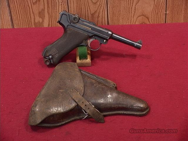 C650R LUGER DWM 1915 MILITARY 9MM  Guns > Pistols > Luger Pistols