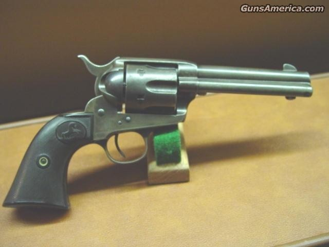 "32-20 4 3/4"" 1899  Guns > Pistols > Colt Single Action Revolvers - 1st Gen."