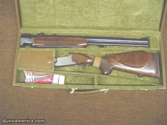 WINCHESTER SUPER GRADE OU  Guns > Shotguns > Drilling & Combo Shotgun Rifle Combos