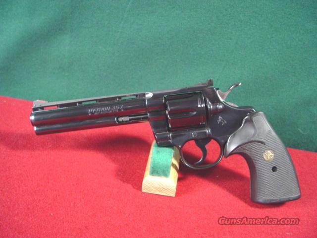 """320M COLT PYTHON 357 6""""  Guns > Pistols > Colt Double Action Revolvers- Modern"""