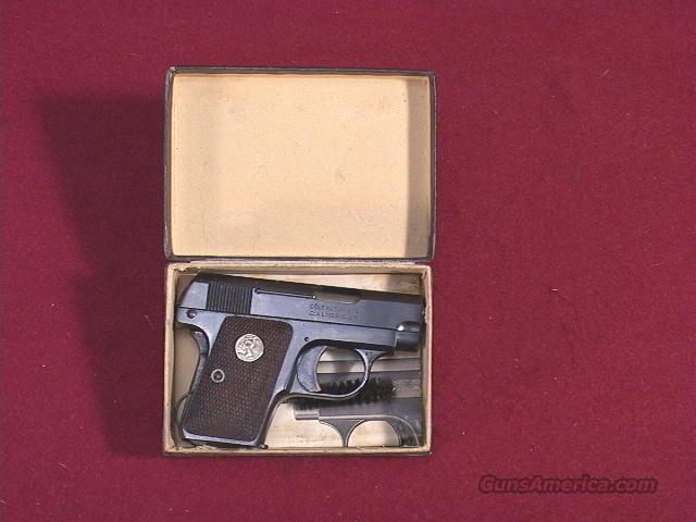 437M COLT 08 POCKET MODEL 25ACP  Guns > Pistols > Colt Automatic Pistols (.25, .32, & .380 cal)