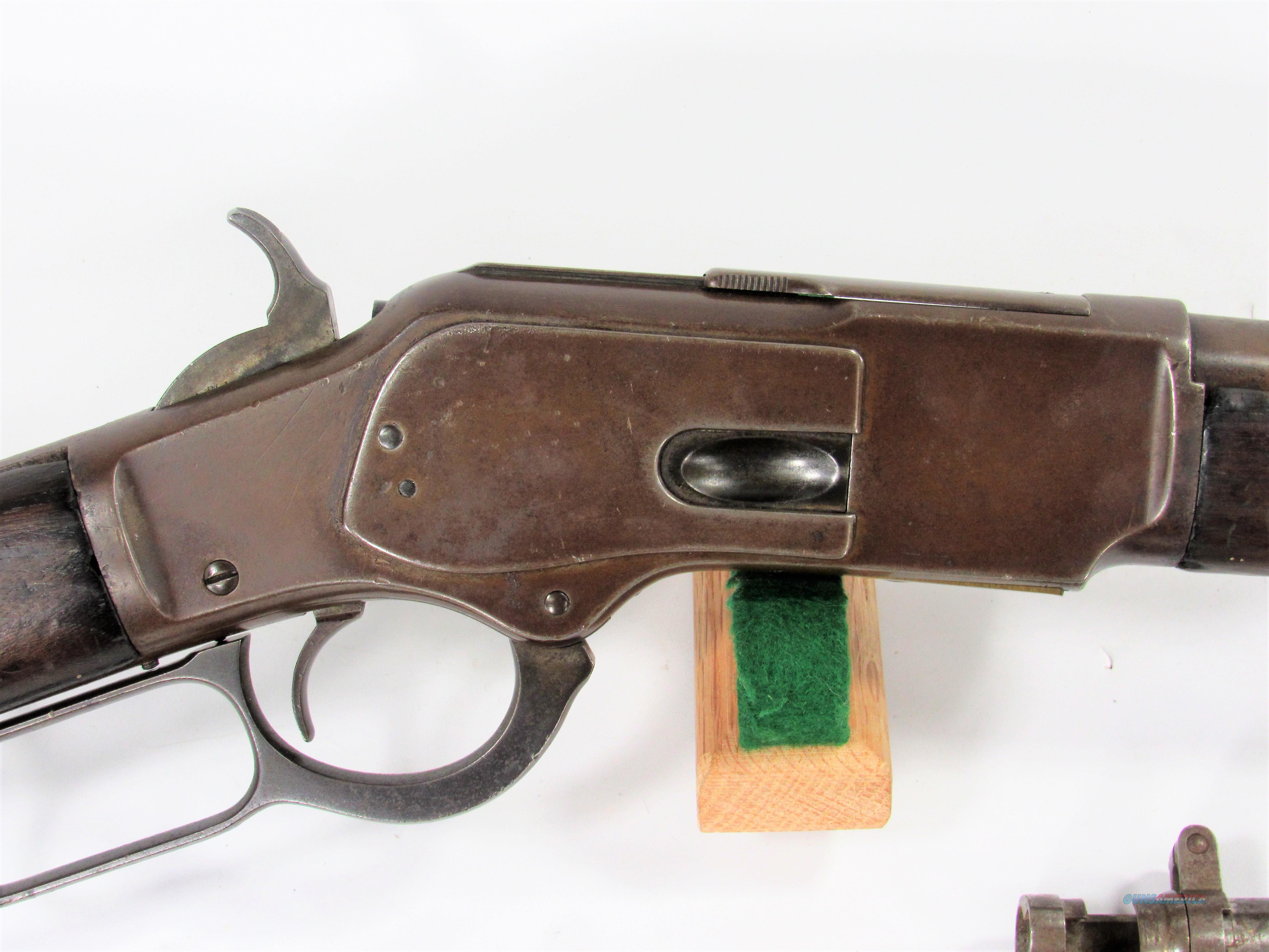 1023 WINCHESTER 1873 44-40 MUSKET  Guns > Rifles > Winchester Rifles - Pre-1899 Lever