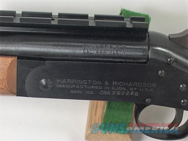 266X H&R HANDI RIFLE 444 MARLIN  Guns > Rifles > Harrington & Richardson Rifles
