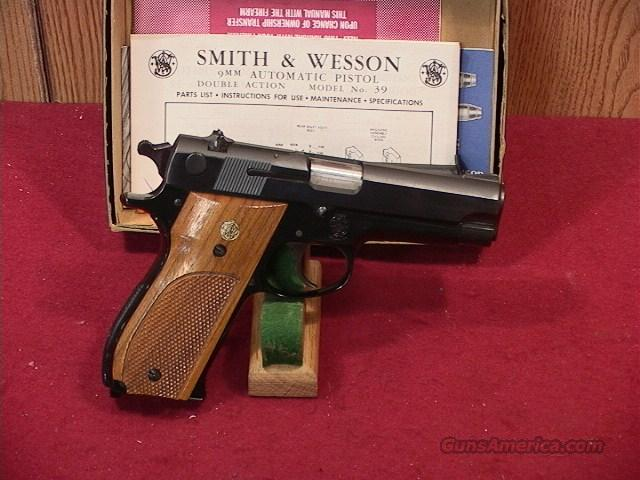 10S SMITH & WESSON 39-2 9MM  Guns > Pistols > Smith & Wesson Pistols - Autos > Alloy Frame