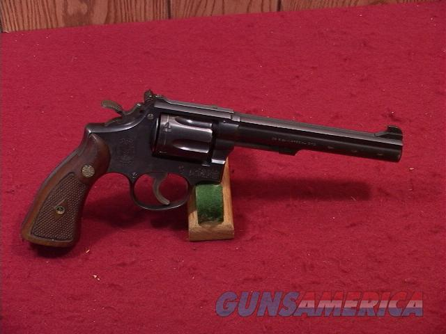 104U S&W K38 TARGET MASTERPIECE 38SP  Guns > Pistols > Smith & Wesson Revolvers > Full Frame Revolver
