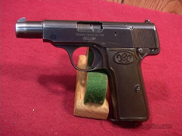 206R WALTHER MODEL 4   Guns > Pistols > Walther Pistols > Pre-1945 > Other