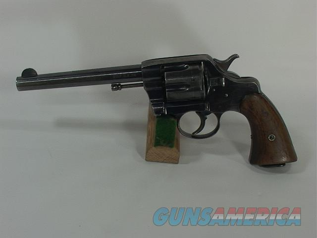 "125V COLT 1901 NEW ARMY 38 6"", MADE 1901  Guns > Pistols > Colt Double Action Revolvers- Pre-1945"
