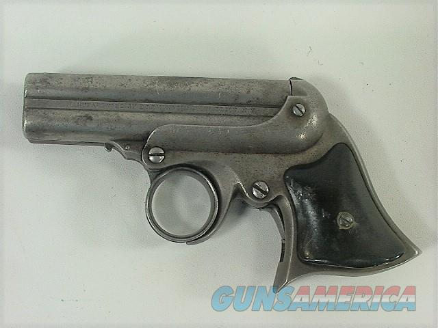 956 REMINTON ELLIOT RING TRIGGER 32RF FOUR SHOT DERRINGER  Guns > Pistols > Remington Derringers