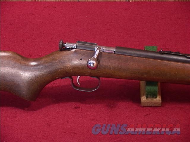 116UA WINCHESTER 67 SMOOTH BORE 22  Guns > Rifles > Winchester Rifles - Modern Bolt/Auto/Single > .22 Boys Rifles