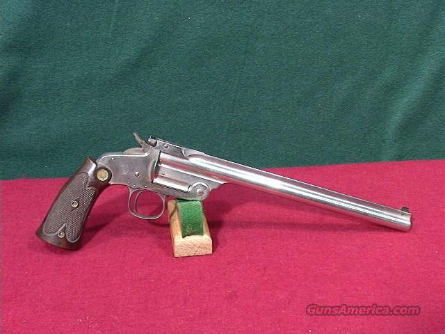 56O S&W 1ST MODEL (MODEL OF 1891) 22LR (1 OF 862 MFGR.)  Guns > Pistols > Smith & Wesson Revolvers > Pre-1945