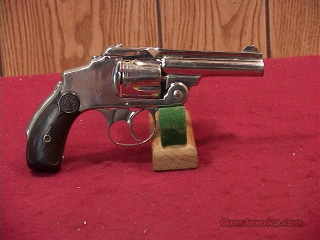 817 SMITH AND WESSON SAFETY HAMMERLESS 2ND MODEL 38 S&W  Guns > Pistols > Smith & Wesson Revolvers > Pre-1899
