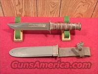 US29 USN MK2 KABAR FIGHTING KNIFE,  Knives/Swords > Military > Non-Bayonets