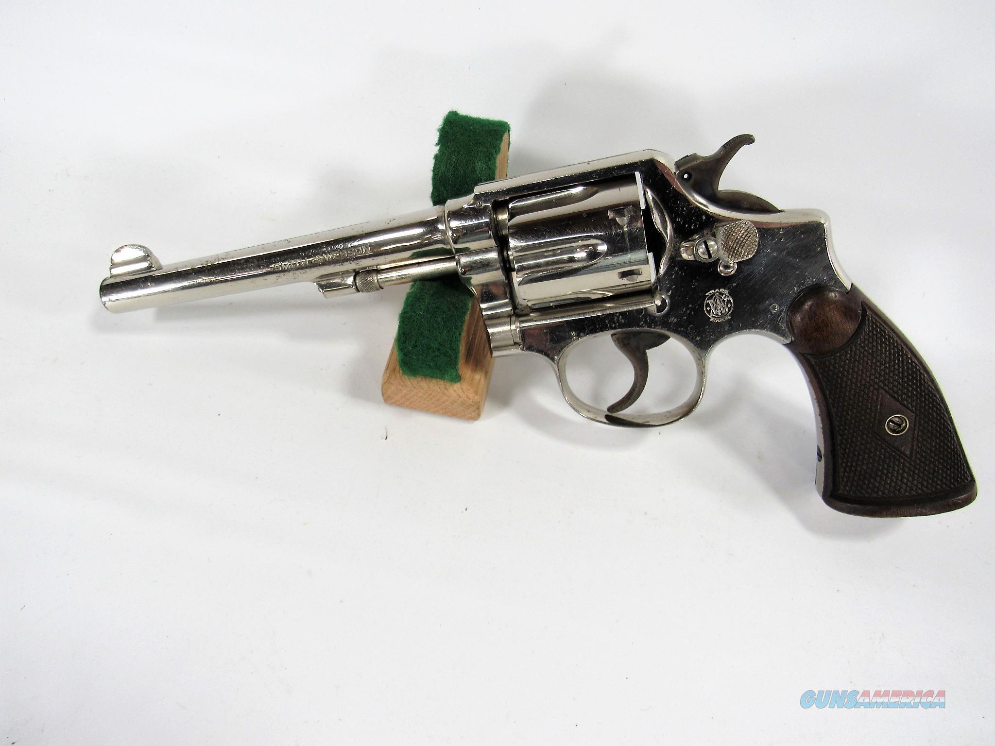 75Y S&W M&P MODEL OF 1905 4TH CHANGE 38SP  Guns > Pistols > Smith & Wesson Revolvers > Med. Frame ( K/L )