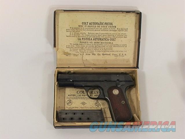 144V COLT 1903 32 ACP, TYPE IV  Guns > Pistols > Colt Automatic Pistols (.25, .32, & .380 cal)