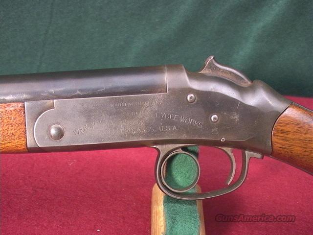 639 IVER JOHNSON & CYCLE WORKS RARE EJECTOR SINGLE GUN  Guns > Shotguns > Iver Johnson Shotguns