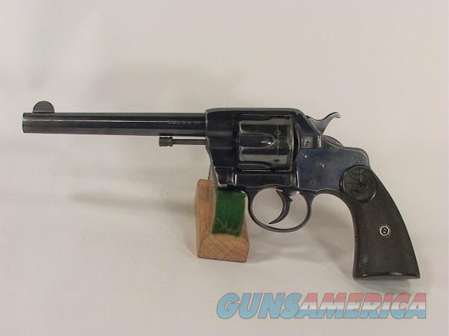 163V COLT 1892 NEW ARMY CIVILIAN MODEL DA 38  Guns > Pistols > Colt Double Action Revolvers- Pre-1945