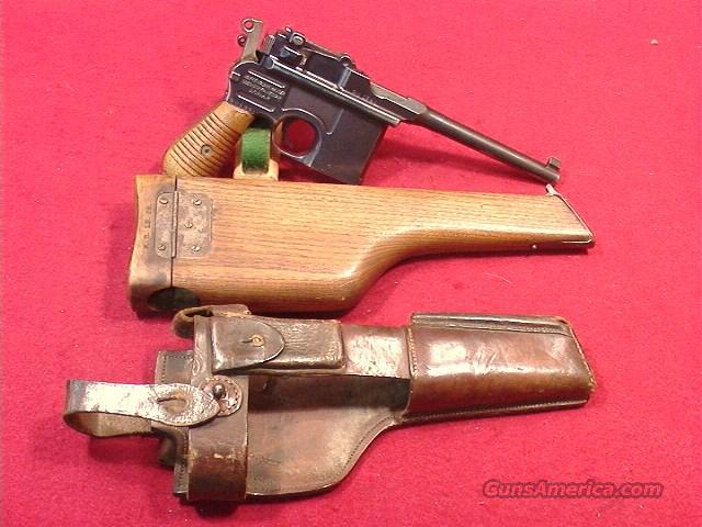 C512R MAUSER BROOM HANDLE COMMERCIAL 1930 MODEL 7.63  Guns > Pistols > Mauser Pistols