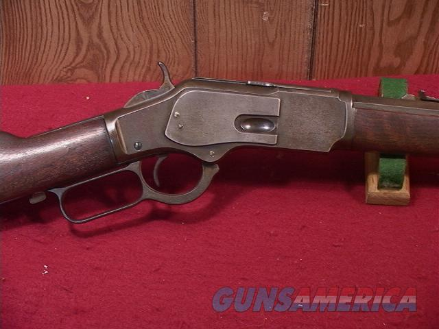 "654 WINCHESTER 1873 32-20 OCTAGON RIFLE 30""  Guns > Rifles > Winchester Rifles - Pre-1899 Lever"