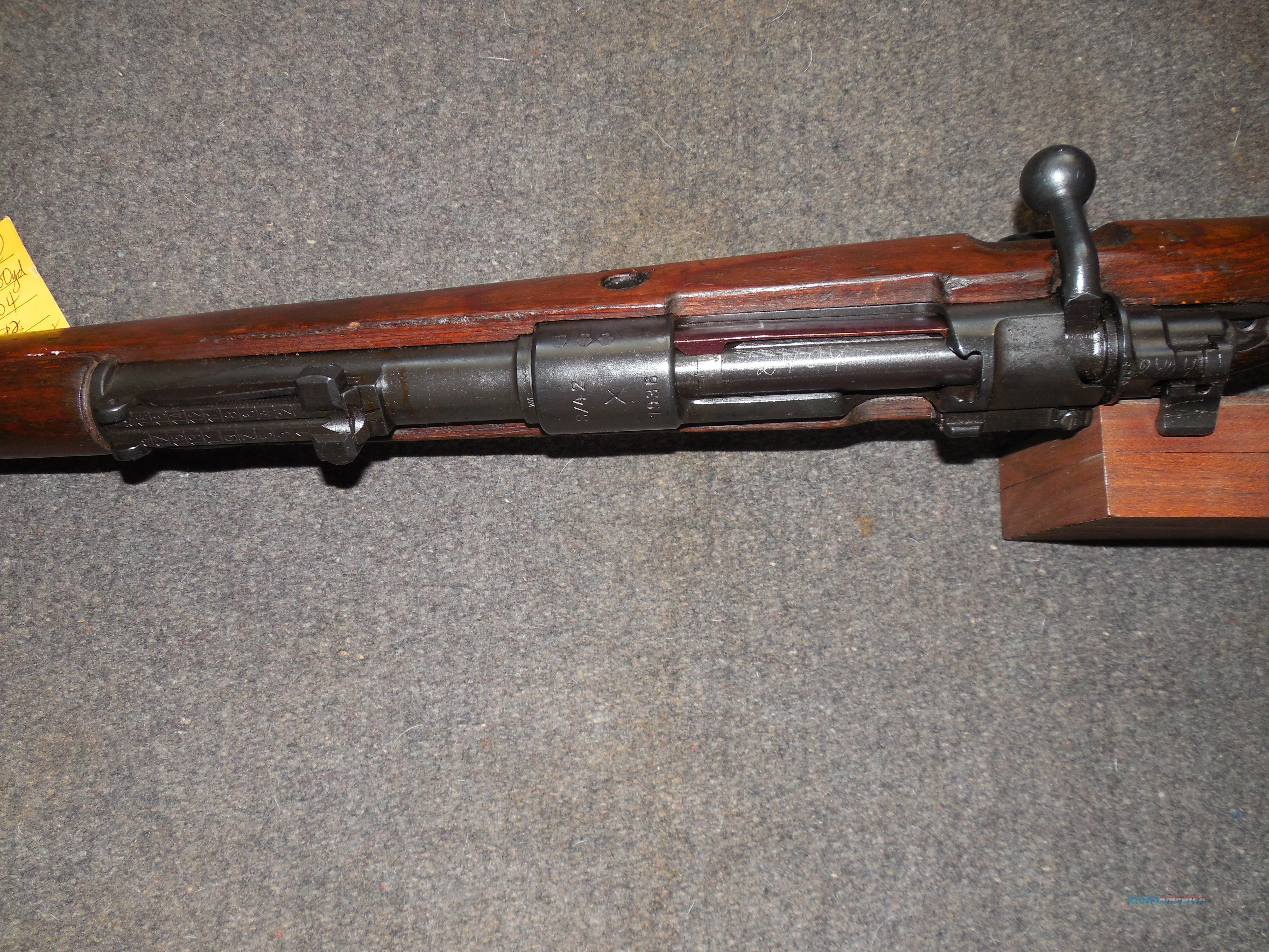"German K98k ""S42"" coded ""1937""early rifle  Guns > Rifles > Military Misc. Rifles Non-US > Other"